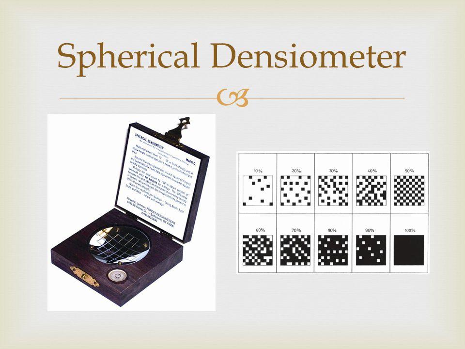  Spherical Densiometer