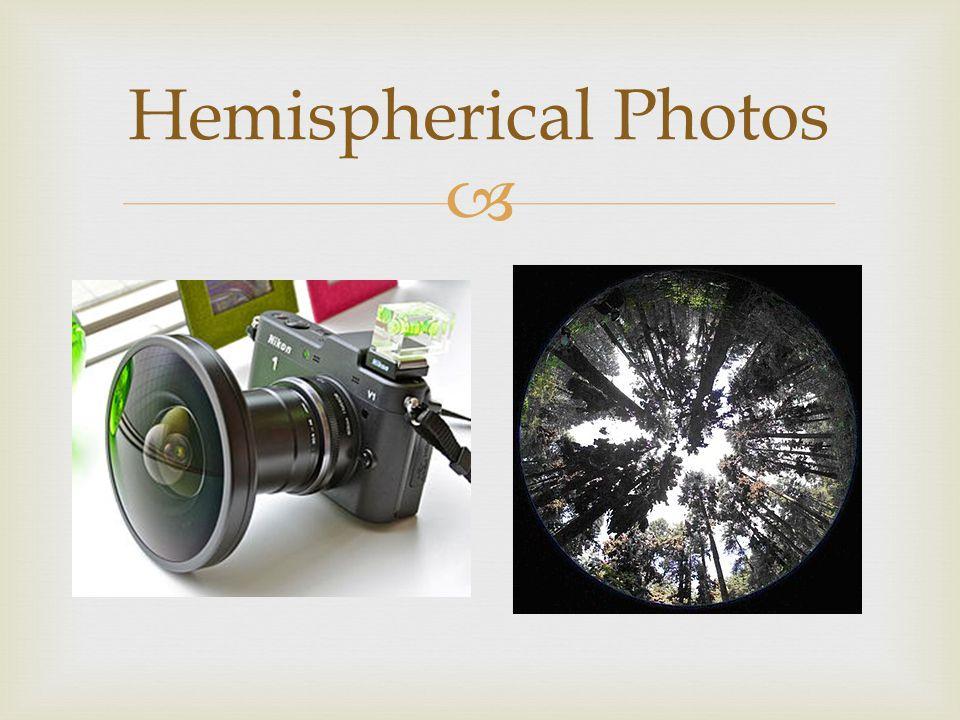  Hemispherical Photos