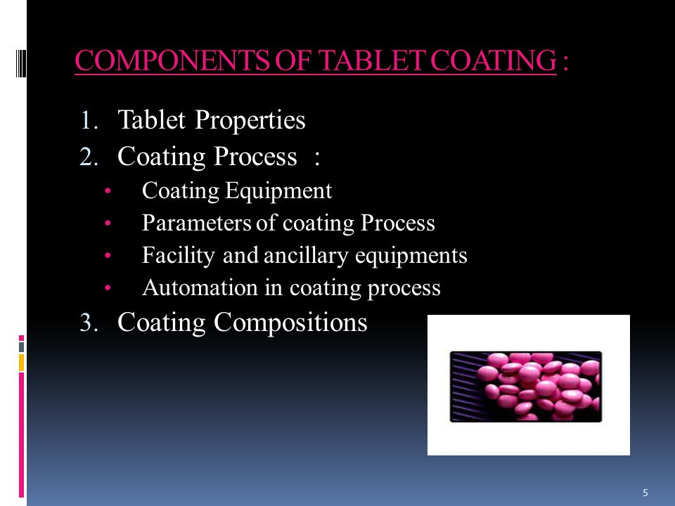 TABLET PROPERTIES :  Tablets must posses proper physical characteristics.