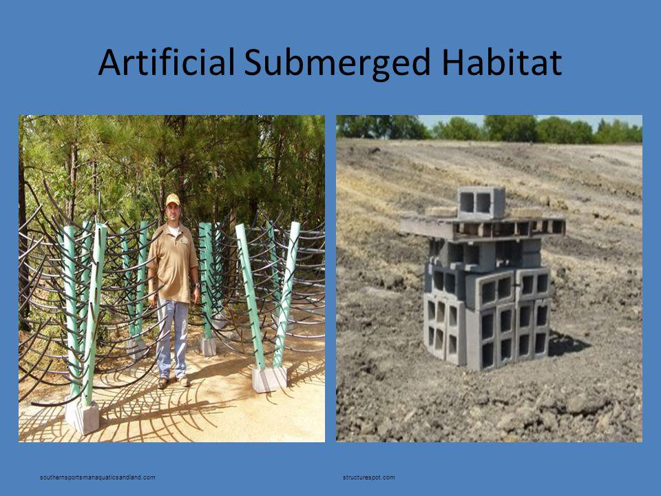 Artificial Submerged Habitat southernsportsmanaquaticsandland.comstructurespot.com