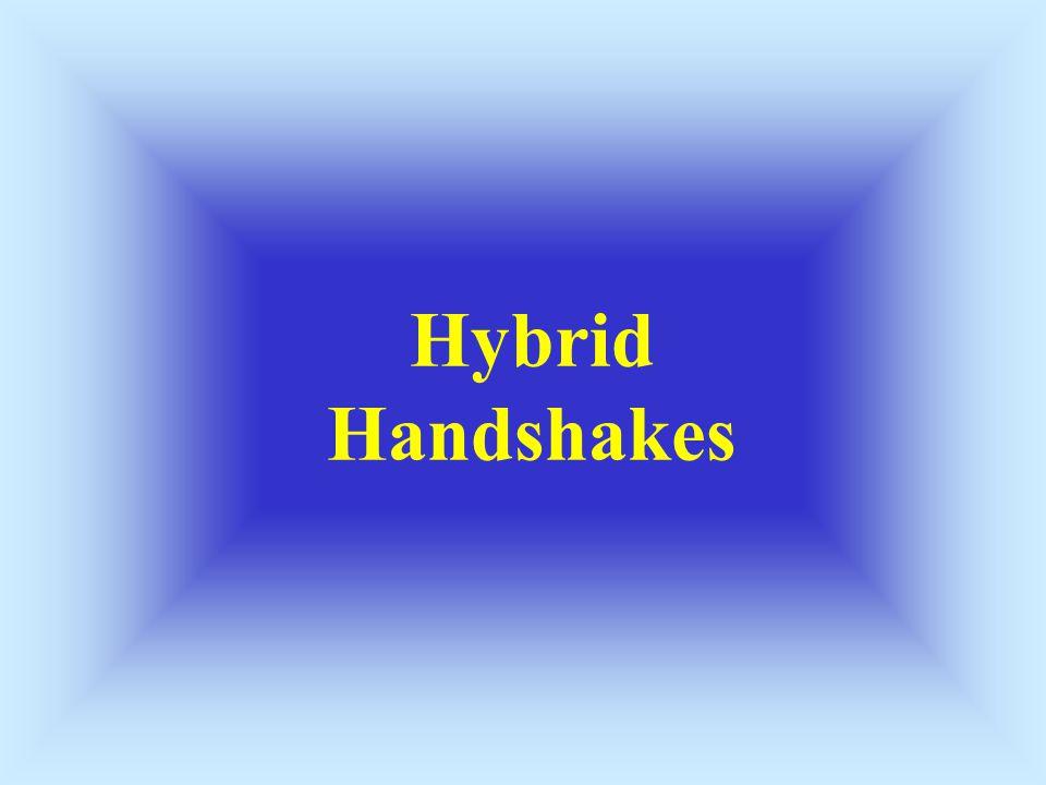Hybrid Handshakes