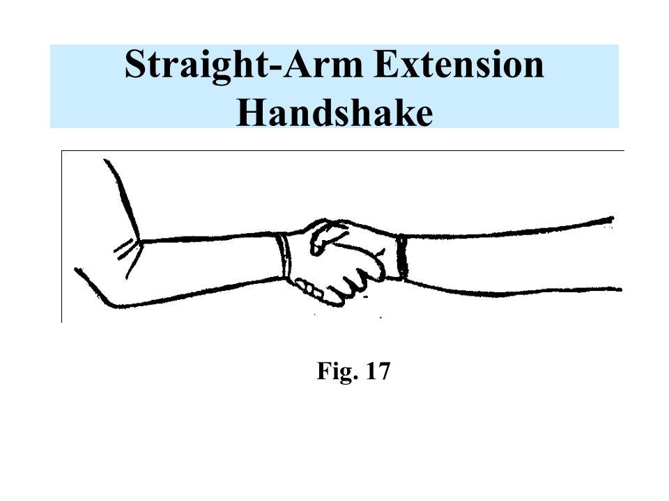 Straight-Arm Extension Handshake Fig. 17
