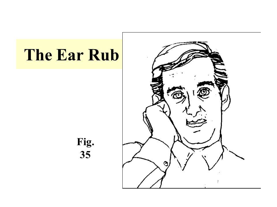 The Ear Rub Fig. 35