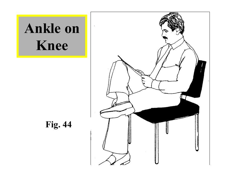 Ankle on Knee Fig. 44
