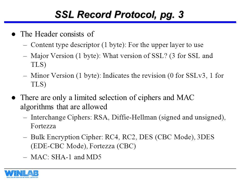 SSL Record Protocol, pg.