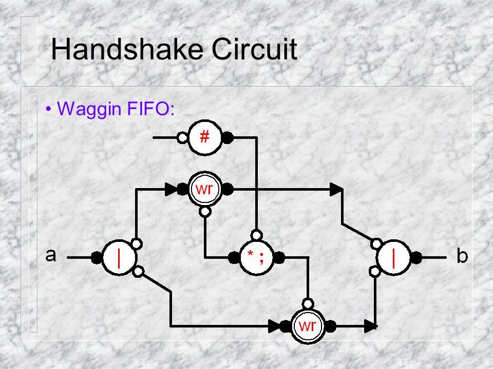 Handshake Circuit Waggin FIFO: