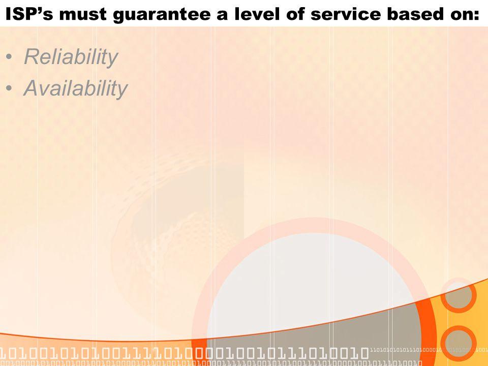 Characteristics of Reliability Redundant Hardware Fault Tolerance - The measure of equipment robustness is fault tolerance, the longer the MTBF, the greater the fault tolerance.
