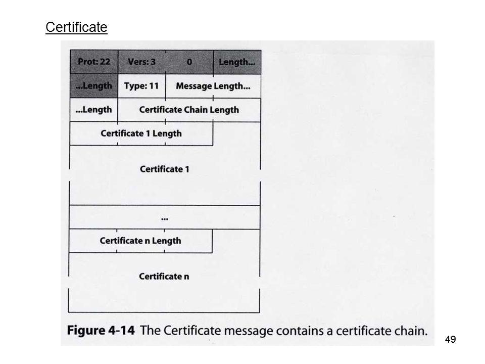 49 Certificate