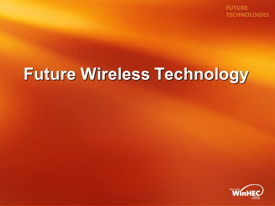 Future Wireless Technology