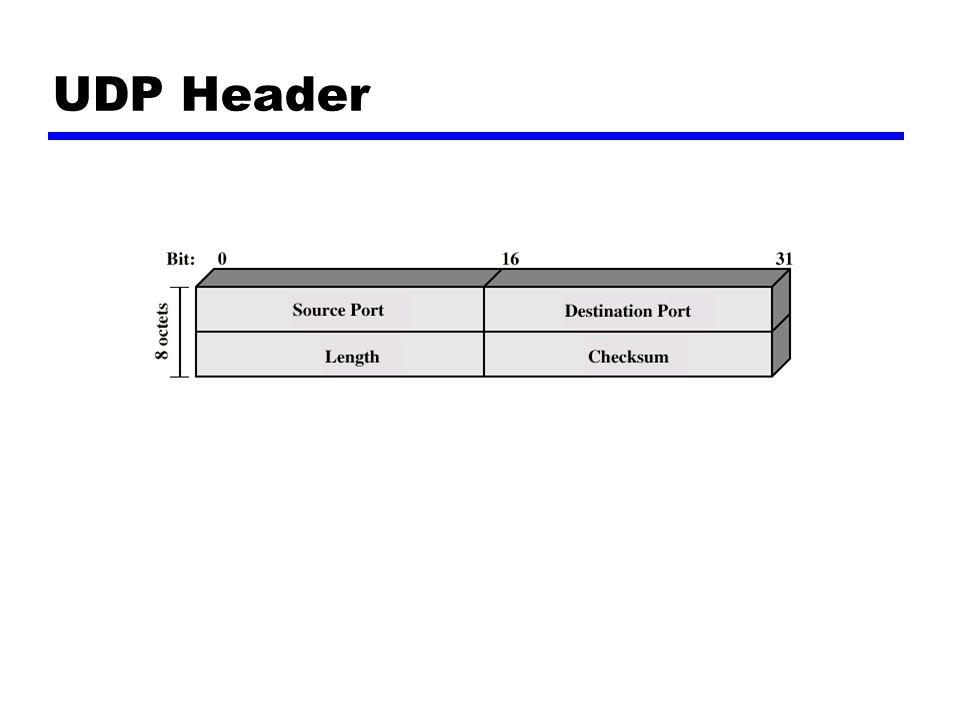 UDP Header