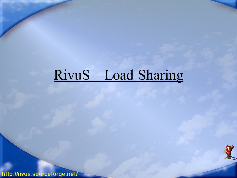 RivuS – Load Sharing