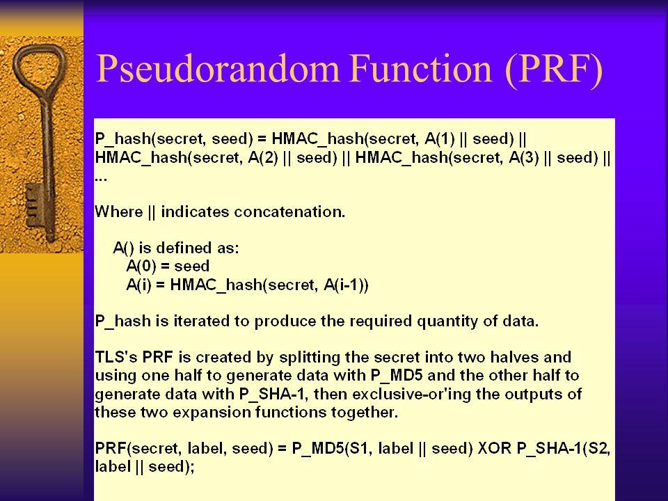 Pseudorandom Function (PRF)
