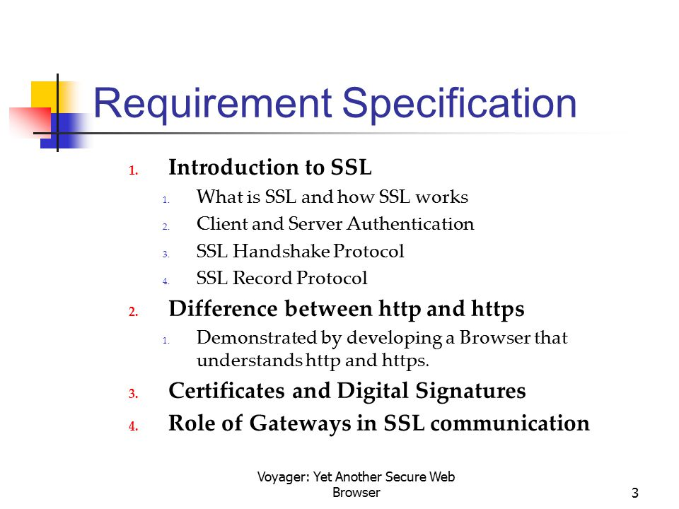 Voyager: Yet Another Secure Web Browser3 Requirement Specification 1.