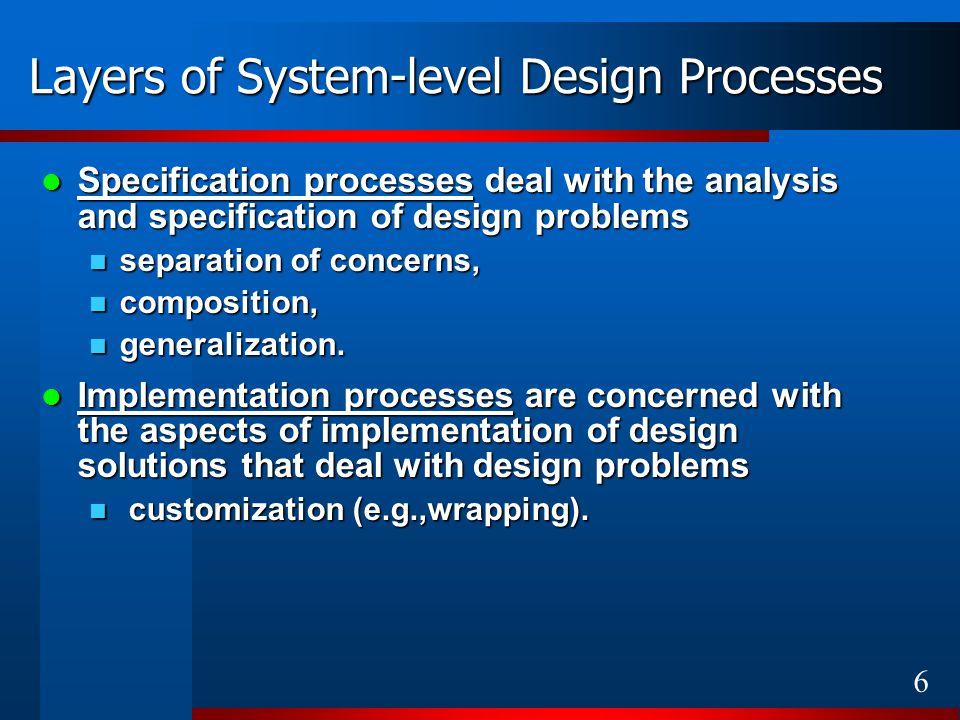 17 Aim of Metaprogramming Create a metaprogram – a program generator for a narrow application domain.