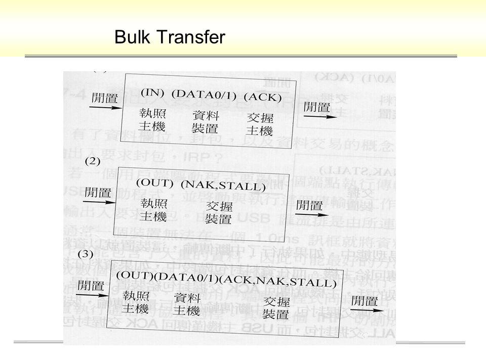 Bulk Transfer