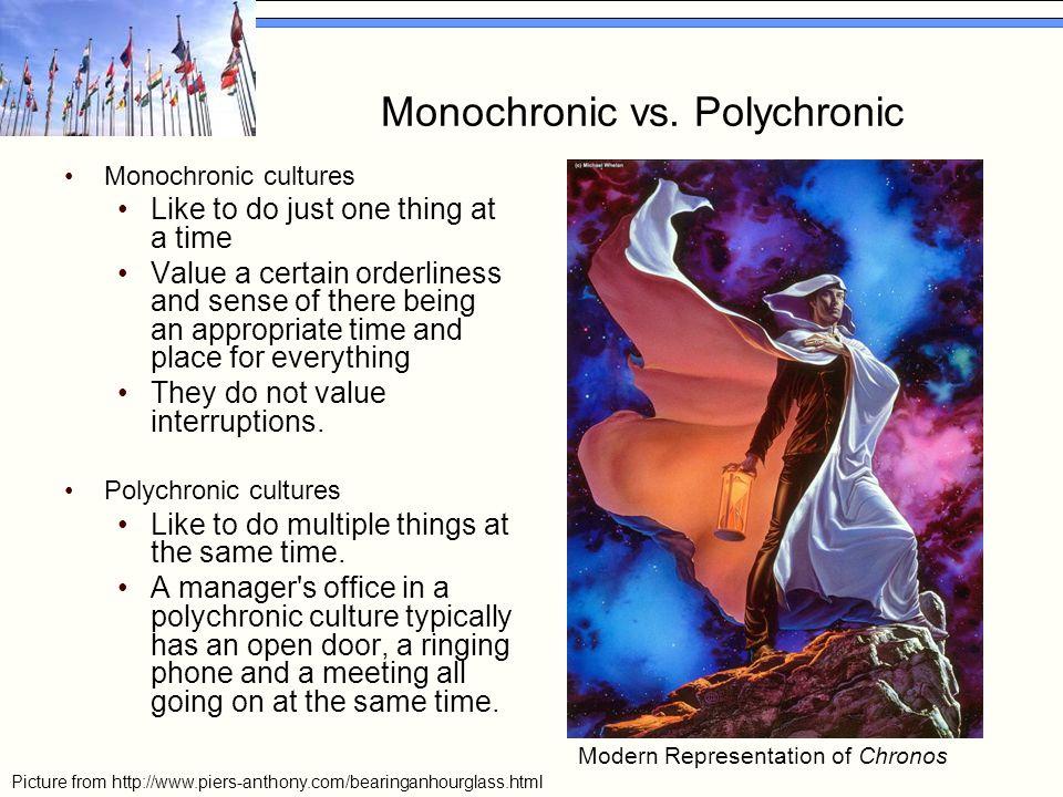 Monochronic vs.