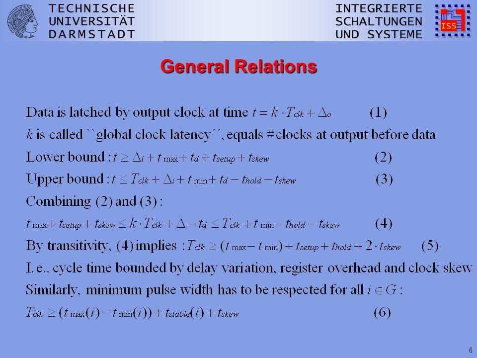 6 General Relations
