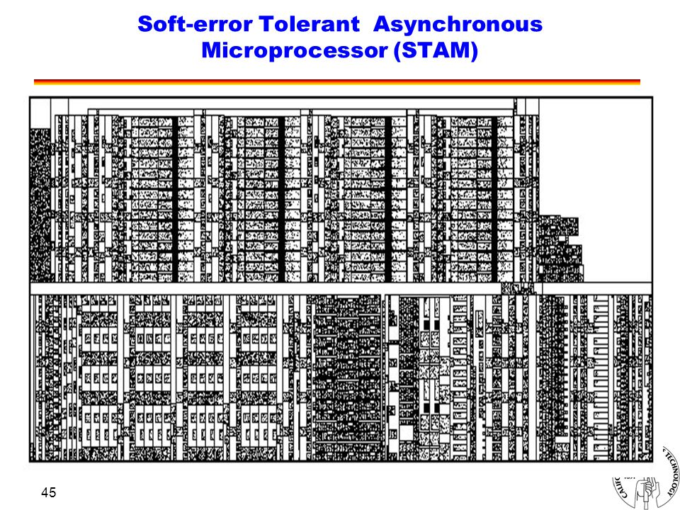 45 Soft-error Tolerant Asynchronous Microprocessor (STAM)