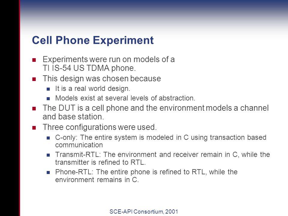 SCE-MI Cell Phone Example