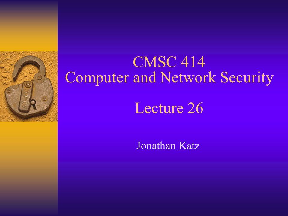 Example: PGP vs.SSL vs.