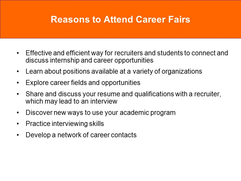 Effective and efficient way for recruiters and students to connect and discuss internship and career opportunities Learn about positions available at