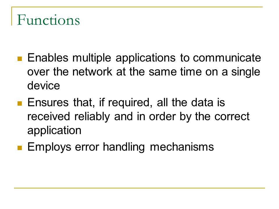 Connection establishment When two hosts communicate using TCP, a connection is established before data can be exchanged.