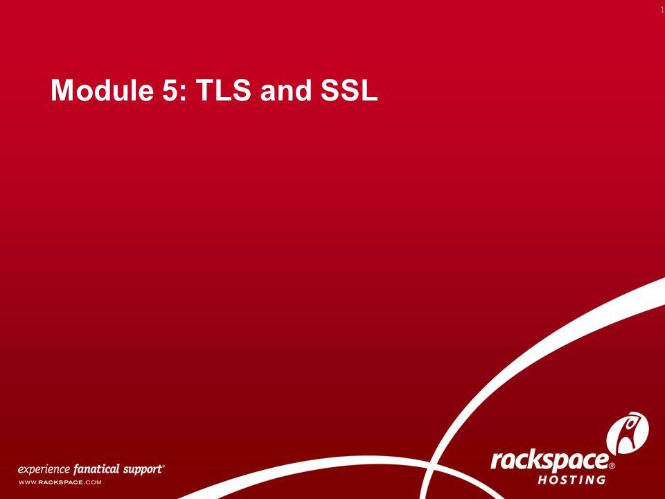 Module 5: TLS and SSL 1