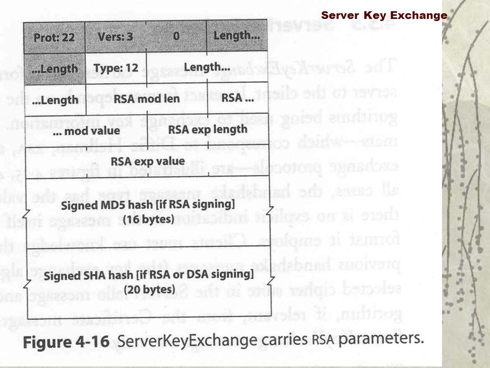 Server Key Exchange