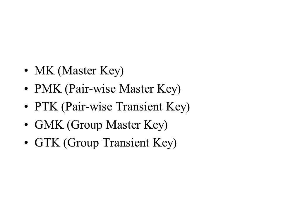 Reducing 4-way handshake is important.Best case analysis of 4-way handshake is 20ms.