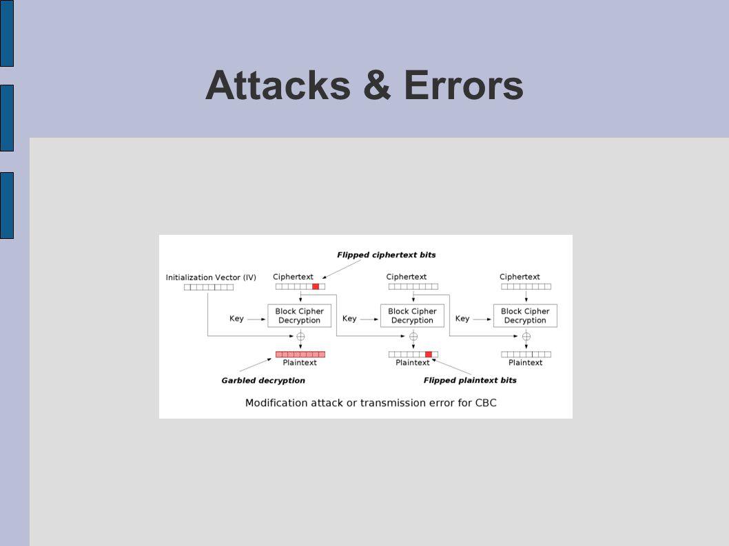 Attacks & Errors