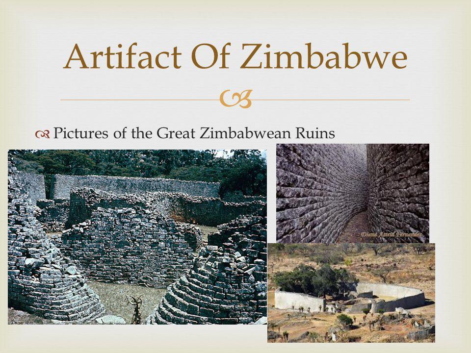   Pictures of the Great Zimbabwean Ruins Artifact Of Zimbabwe