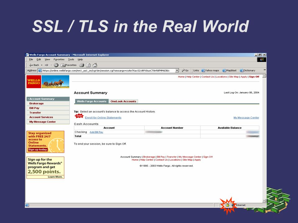 SSL / TLS in the Real World