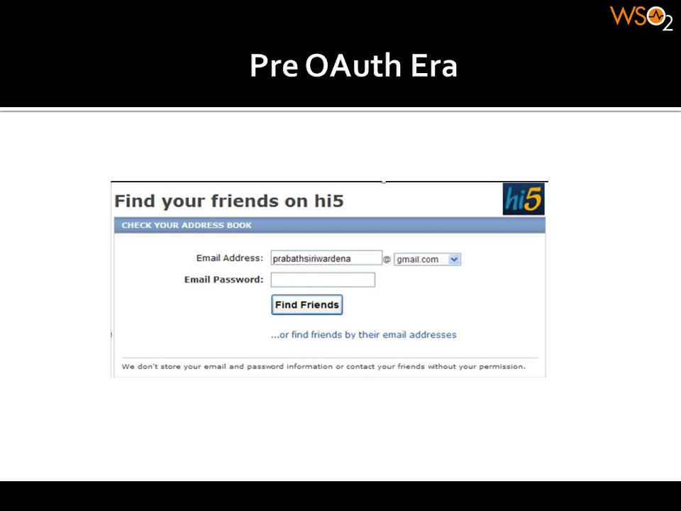 Anonymous Clients OAuth Handshake