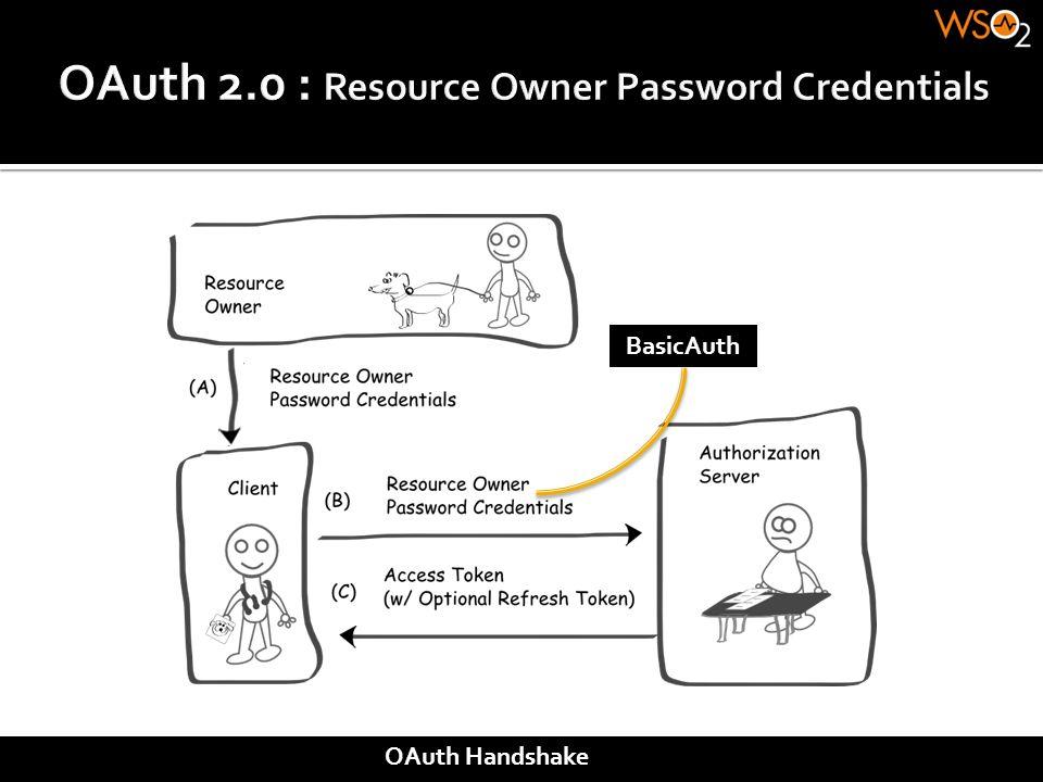 BasicAuth OAuth Handshake