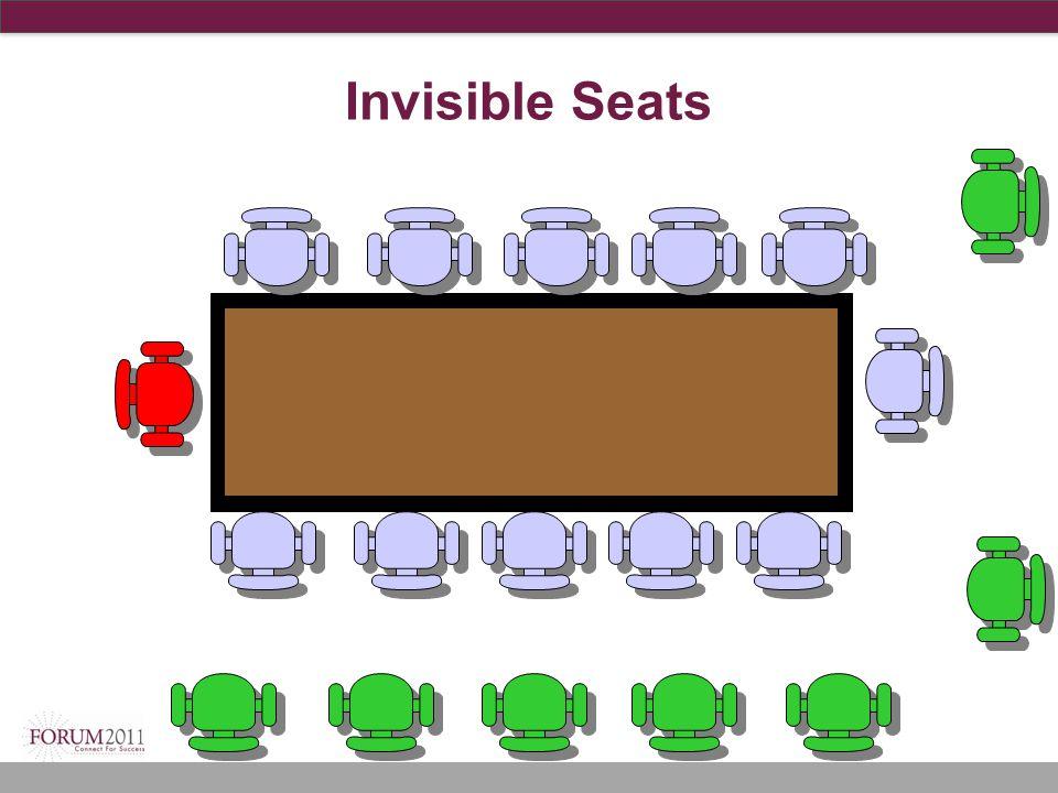 Invisible Seats