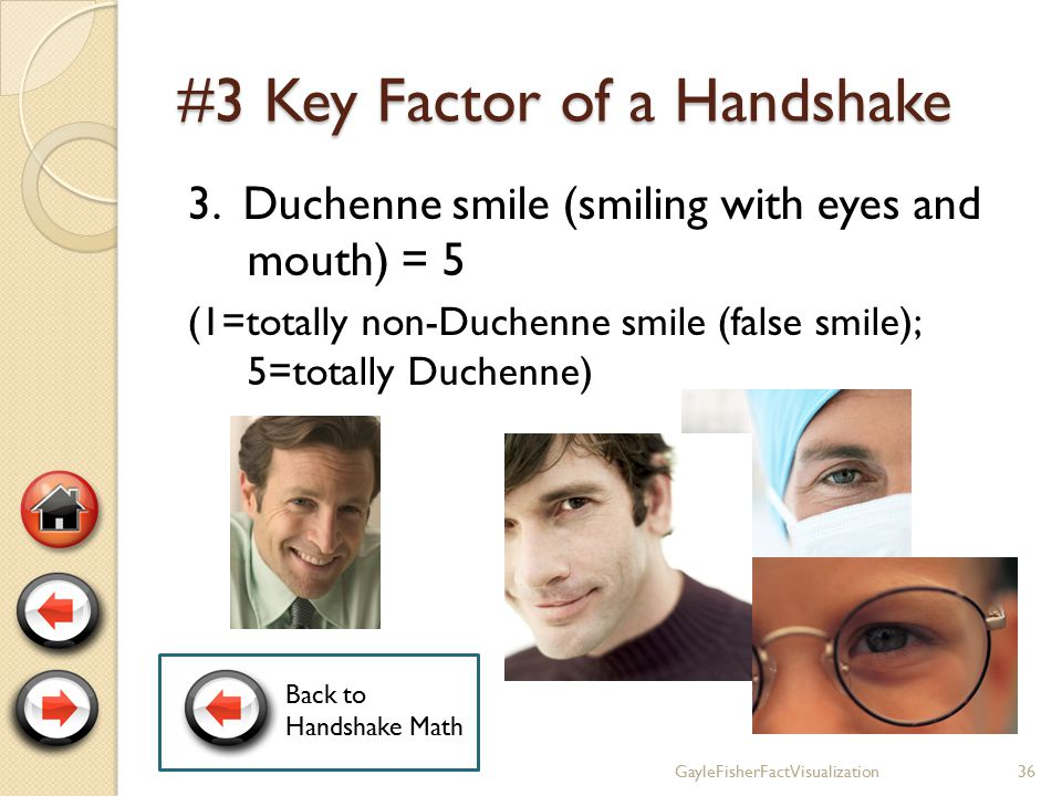 #2 Key Factor of a Handshake 2.