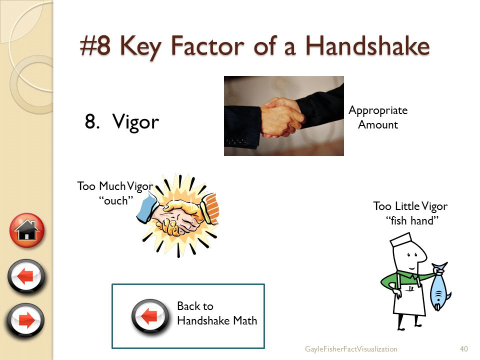 #7 Key Factor of a Handshake 7.