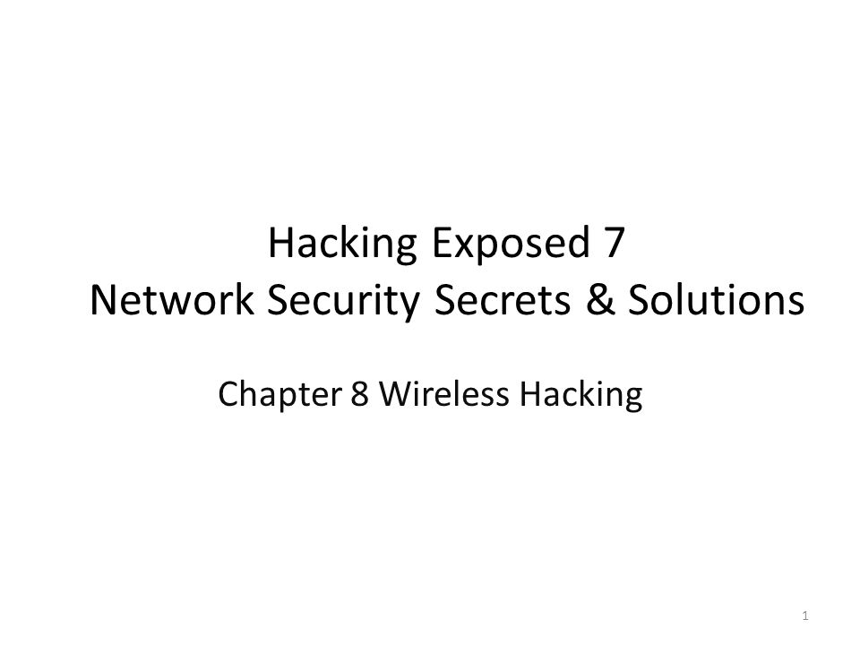 Case Study on Wireless Hacking Read It and WEP (not Weep) A store with the point-of-sale system connected through Wi-Fi /w WEP (Wired Equivalent Privacy) encryption A hacker at the parking lot turns laptop with Wi-Fi card and directional antenna to promiscuous mode aircrack-ng – airodump-ng to sniff 802.11 frames including WEP initialization vectors (IVs) – Look for SSID (service set identifier) of interest and its MAC address – aireplay-ng to spoof as a client to capture ARP and replay it to collect enough IVs – aircrack-ng to crack WEP key from the capture file – Disable the promiscuous mode – Enter WEP key and get an IP address from the DHCP server 2