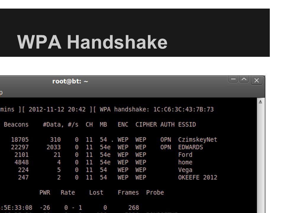 WPA Handshake
