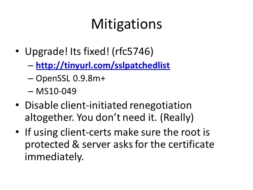 Mitigations Upgrade. Its fixed.