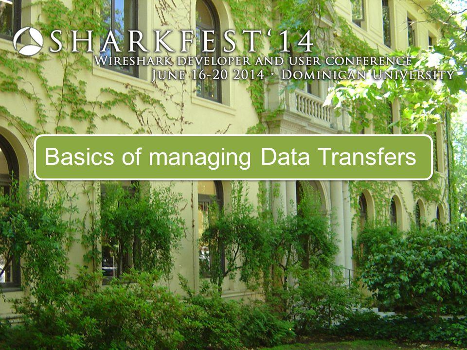 Basics of managing Data Transfers