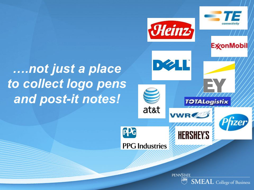 ….not just a place to collect logo pens and post-it notes!