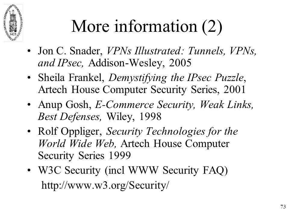 73 More information (2) Jon C.
