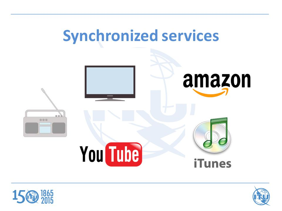 Synchronized services