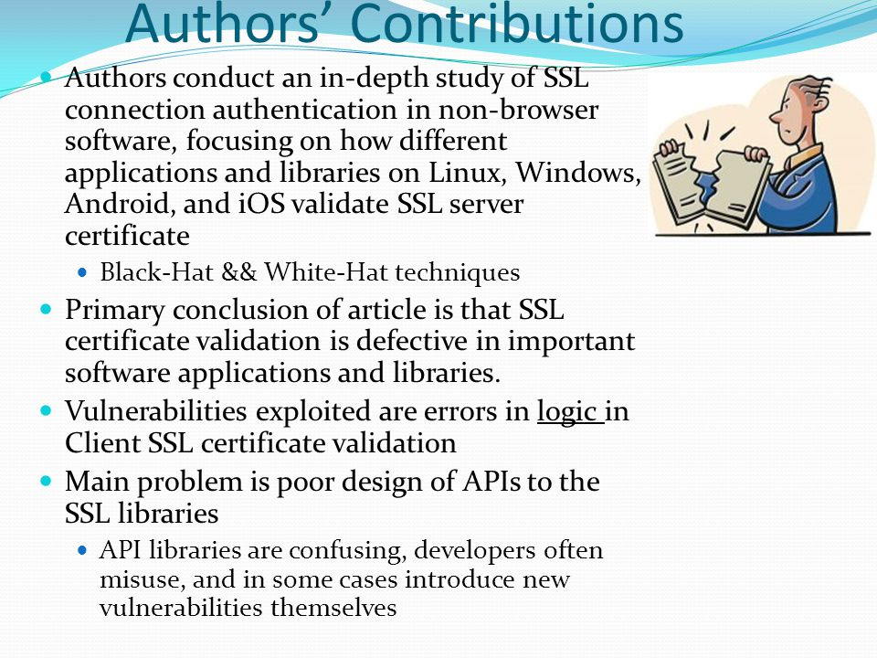 MISUNDERSTANDING THE SSL API Amazon Flexible Payments Service (PHP) PHP version of the FPS SDK uses a wrapper around the libcurl library) to establish an SSL connection to the payment gateway.
