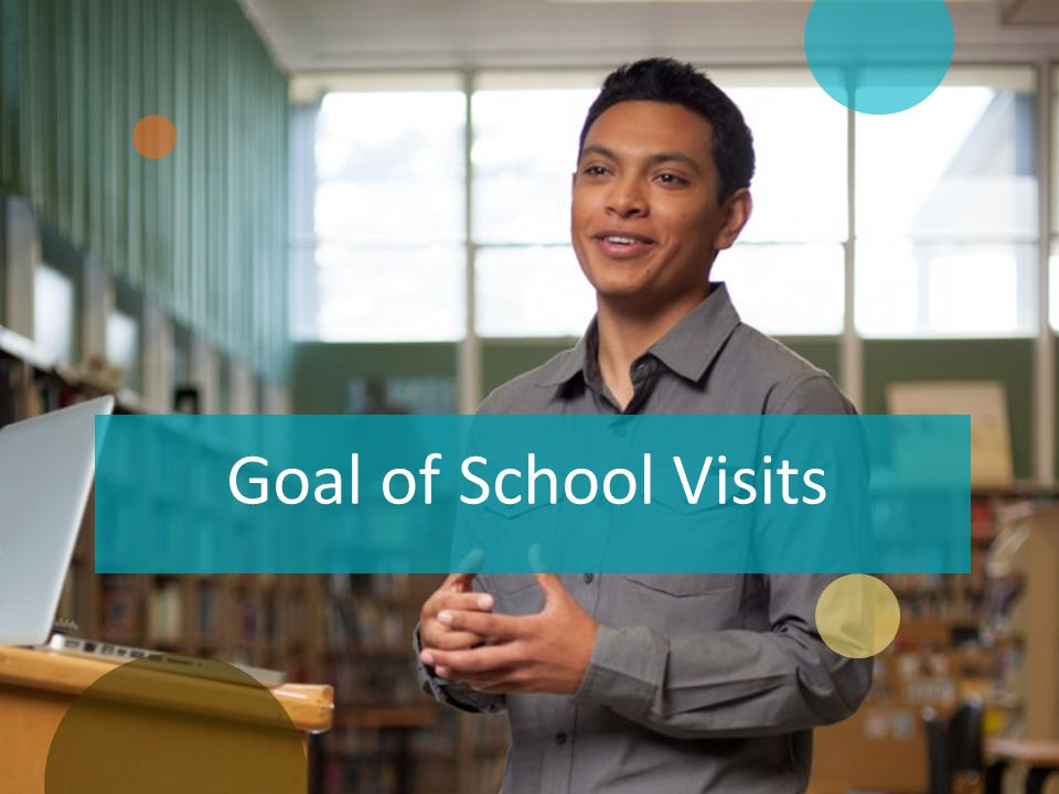 Goal of School Visits