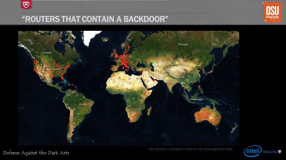 Defense Against the Dark Arts http://shodanio.wordpress.com/2014/02/18/introducing-shodan-maps/
