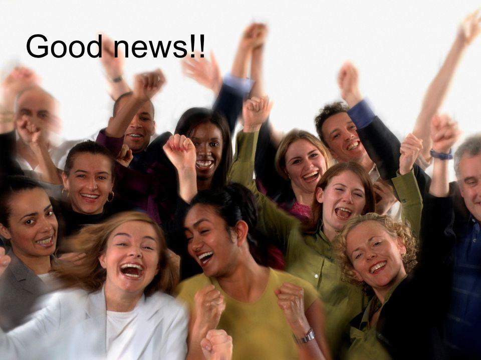 Good news!!