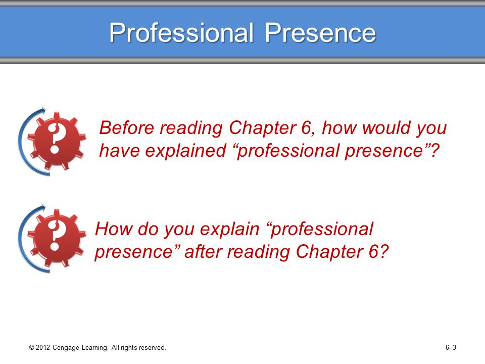 © 2012 Cengage Learning.