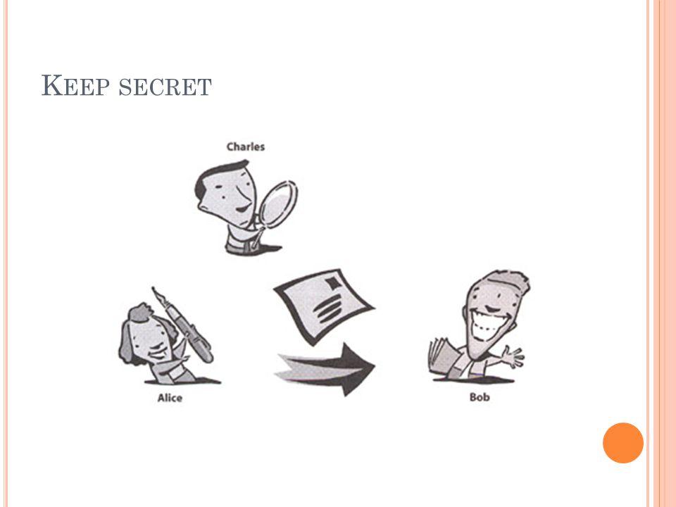 K EEP SECRET